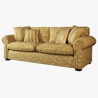 duresta waldorf sofa 3d max