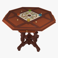 Gambling Table Ludo