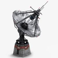 3ds max sci-fi radiolocator