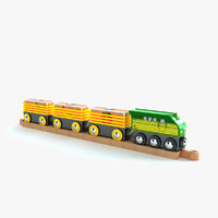 kids train toy 3d max