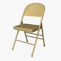 3dsmax folding chair
