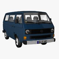 3d t3 bus model