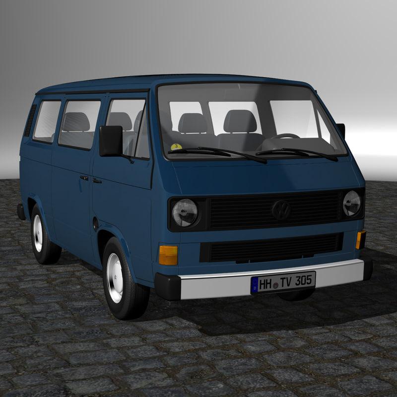 Turbo Microbus: 3d T3 Bus Model