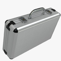 briefcase metal foam 3d model