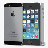 3d iphone apple 5s model