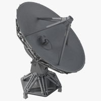 Large Satellite Dish Antenna