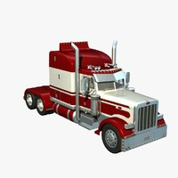 Peterbilt 389 High Sleeper
