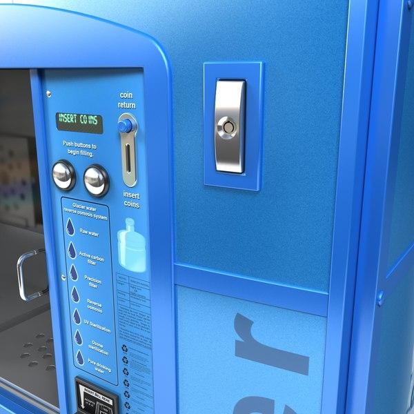 glacier water vending machine