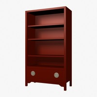 Red Bookcase