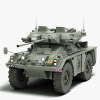 FV 721 Fox Armored Vehicle