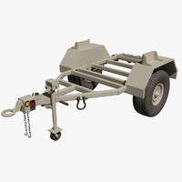 US Military Kasel M116A2 Trailer