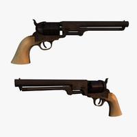 Colt 1851 Navy (Ivory Grip)