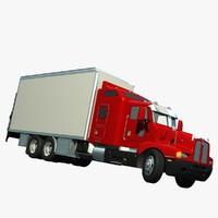 expediter truck 3d model