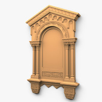 3ds max decor wall window