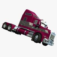 3d lwo truck t800 aerocab