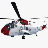 sikorsky sh-3 sea king 3d max