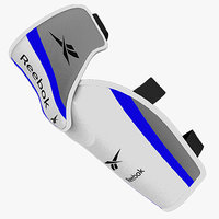 3d model ice hockey elbow pad