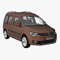 VW Caddy Family 2011