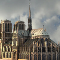 3d model notre dame paris cathedral