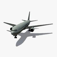 b 767-200 3d max