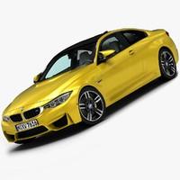 3d model 2015 bmw m4