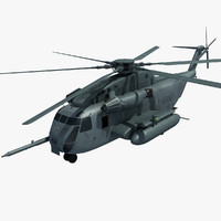 sikorsky ch-53 sea stallion 3d model