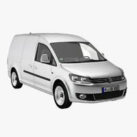 3d model caddy maxi delivery van