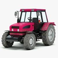 3d generic farming tractor