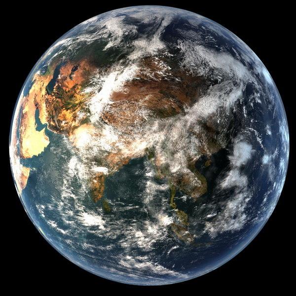 Planet Earth 3d Model 3d Model Planet Earth