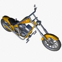 3d model chopper