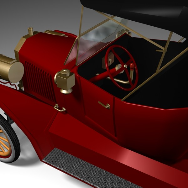 3d car antique model - Model T... by mostlysquare