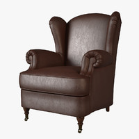 3d model armchair cava