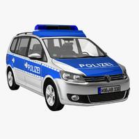 VW Touran Police
