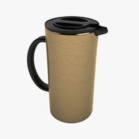thermo mug 3d obj