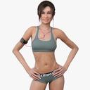 woman 3D models