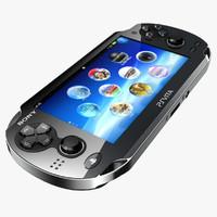 ps vita sony 3d model