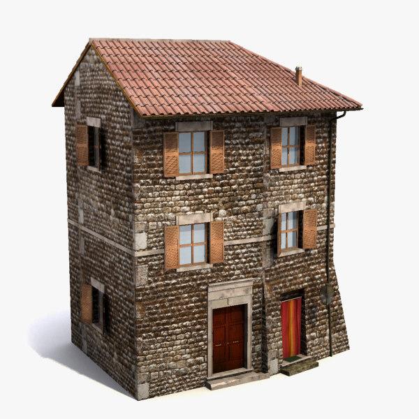 Home Design 3d 1 3 1 Mod: Old House 3d C4d