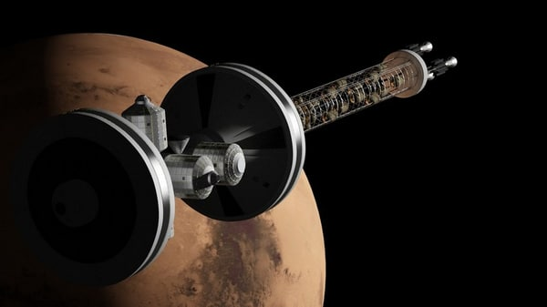 mars spacecraft engines 3d model - Mars Spaceship... by I14R10