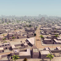 Arab City Suburb St01