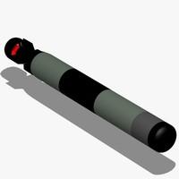 lightweight torpedo 3d max