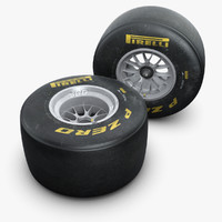 2011 Formula 1 Wheel and Tyre