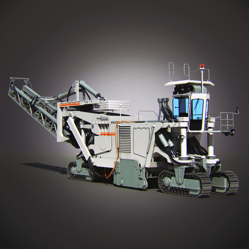 Wirtgen SM 2500 - Mining machine Back.jpg