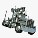 self-loading dump truck 3D models