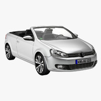 new golf 6 cabriolet 3ds