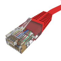 3d model cable wired