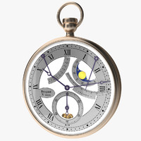 breguet stopwatch vol 6 3d model