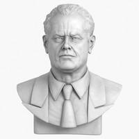 Jack Nicholson Bust