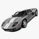 Ford GT 3D models