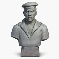Sculpture Man Bust