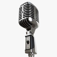 3ds shure 55sh microphone